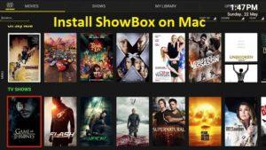 ShowBox for mac book pro, mini air, lg, laptop, sony, samsung
