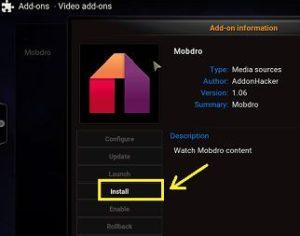 Mobdro for Kodi – Free Download & Install XBMC Video Add-on 2018