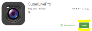 SuperlivePro – Download Digital video recorder app for PC, android & Mac