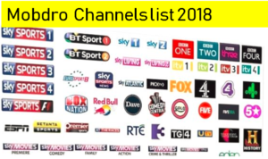 The Best way to Get Mobdro channels list and Guide of 2018