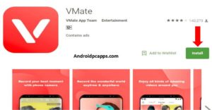 Vmate for PC download free app on windows and Mac Laptop