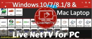 Live netTV for PC Desktop download freemium apk on Windows and Mac