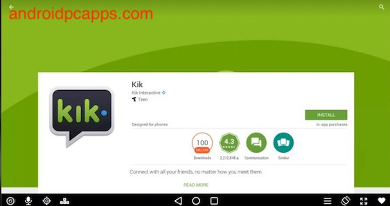 How to install Kik for PC